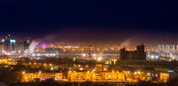 environmental pollution the night