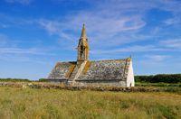 Treguennec Chapelle Saint-Vio in der Bretagne, Frankreich - Treguennec Chapelle Saint-Vio in Brittany, France