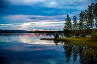 Sunset Beautiful Nature Norway.