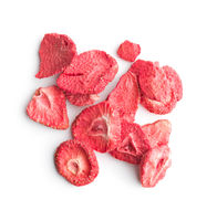 Freeze dried strawberry slices