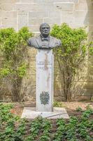 Bust of Churchill, Upper Barrakka Gardens, Valletta, Malta