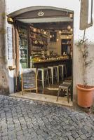 sandwich bar in der historischen altstadt von rom