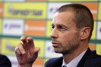 President of the UEFA Aleksander Ceferin