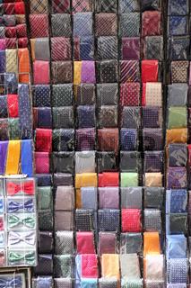 Kollektion bunter Krawatten