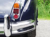 englischer Auto-Klassiker Rückansicht
