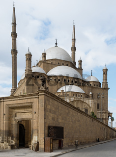 The great Mosque of Muhammad Ali Pasha, Cairo, Egypt