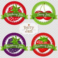 Berry Labels Set