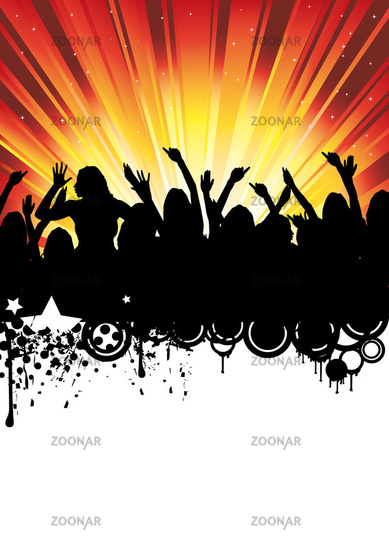 Partyflyer Hintergrund