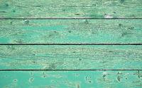 Grüner verwitterter Holzhintergrund - Holzbretter horizontal