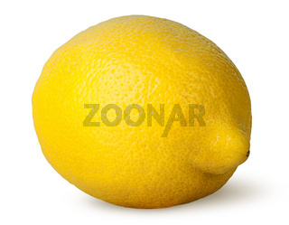 Ripe fresh lemon rotated