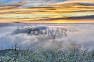 Cherfe panoramic lookout sunset