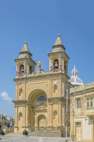 Our Lady of Pompeii church, Marsaxlokk Village, Malta