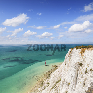 Beachy Head and Lighthouse, Sussex, England