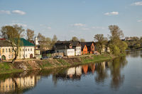 Torzhok, Tvertsa river