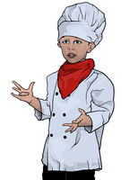 Little Chef Presenting
