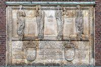 Hochzeitsturm Darmstadt Inschrift
