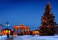 berlin christmas brandenburger tor