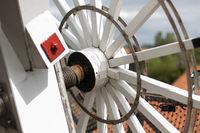 Steert der Rysumer Mühle in Ostfriesland