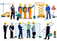 Baustellenarbeit.eps