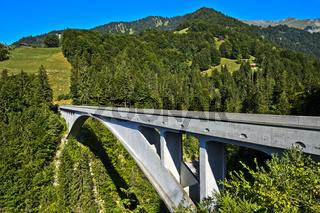 Salginatobelbrücke, Schiers, Salgina Tal, Graubünden, Schweiz