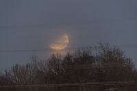 Super Moon In Lunar Eclipse