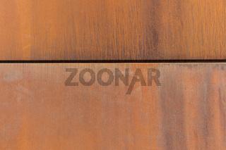 Rostige Metall Textur als Hintergrund