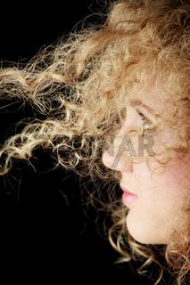 Beautiful teenager