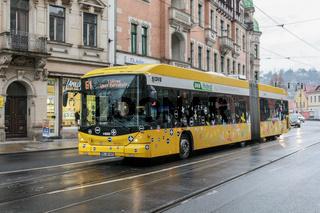Hess-Hybridbus in Dresden