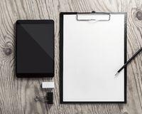 Blank stationery, tablet