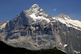 Wetterhorn-Massiv bei Grindelwald