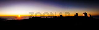Sunset from Mauna Kea Hawaii