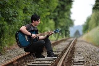 Ich und meine Gitarre