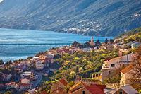 Makarska riviera idyllic coastal village view
