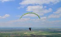 paraglide extreme sport