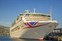 Cruise Ship Oceana, Monte Carlo, Monaco