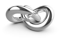 stylish chrome knot