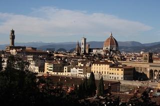 Florenz, Aussicht von Piazzale Michelangelo
