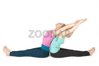 Yoga Frauen Position 149