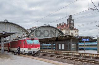 Slowakischer Eurocity in Prag