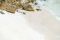 White sand beach andaman sea