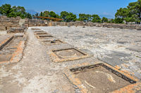 Phaistos palace on Crete, Greece