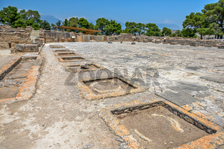 Phaistos palace on Crete, Greece