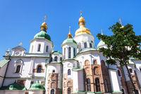 Saint Sophia Cathedral in Kiev city