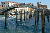 Ponte dei Scalzi am Canal Grande, Venedig