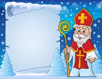 Parchment with Sinterklaas theme 6