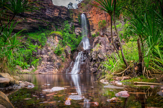 Tjaynera Falls at Sandy Creek in Litchfield National Park
