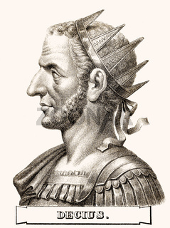 Trajan Decius, c. 201-251, Roman Emperor