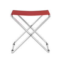 Folding chair on white