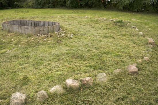 Steinzeitgrab - Hjulgraven