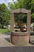 Alter Ziehbrunnen in Ladenburg